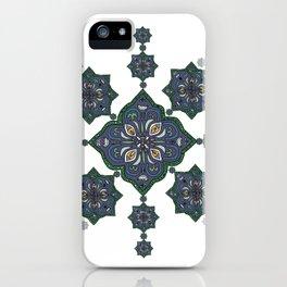 Lively Earth Mandala - v.3 iPhone Case