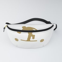 Mens Pickleball graphic for a proud grandfather called Papa Fanny Pack