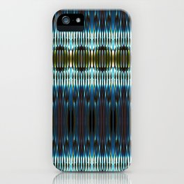 Meeting of the Society for the Advancement of Electric Q-Tips iPhone Case