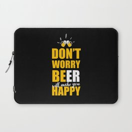 Funny Beer Saying Laptop Sleeve