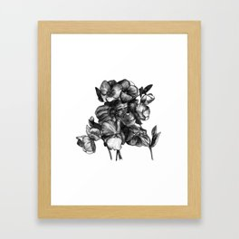 Watercolor Flower Bouquet - Katrina Niswander Framed Art Print