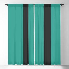 A smart adaptation of Sand Brown, Dark, Sea and Sea vertical stripes. Blackout Curtain
