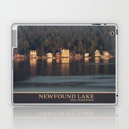 Houses on the Newfound Lake Laptop & iPad Skin