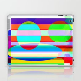 Re-Created Intersection VII by Robert S. Lee Laptop & iPad Skin
