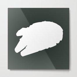 Millennium Falcon - Inverted Metal Print