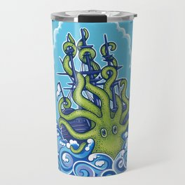 The Kraken Abides Travel Mug