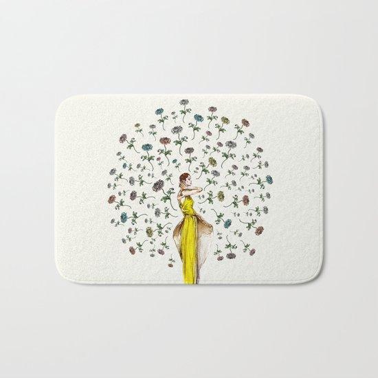 Paris Summer | The Flower Girl Bath Mat