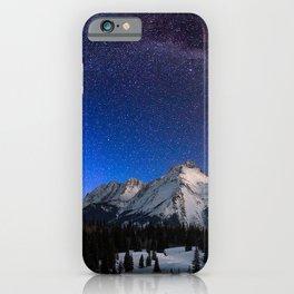 Photo USA Milky Way Colorado Durango Electric Peak iPhone Case