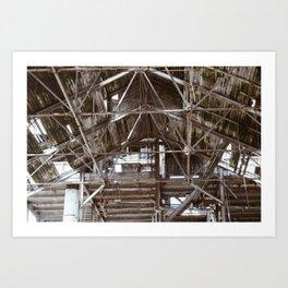 Rafters 2 Art Print