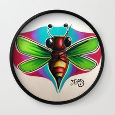 Bee Bumble Wall Clock