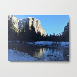 El Capitan Air and Water Metal Print