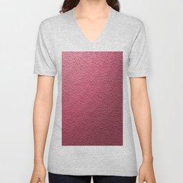 Art Pink Patern Unisex V-Neck