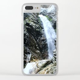 Zapata Falls Clear iPhone Case