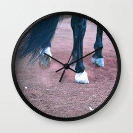 Hoof Beats Wall Clock