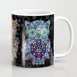 Owl Zentangle Floral   Coffee Mug