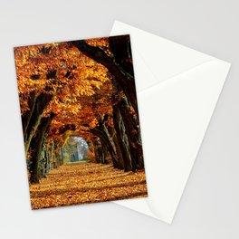 autumn Park Stationery Cards