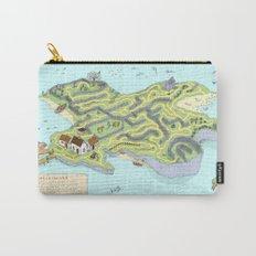Eagle Island Maze Carry-All Pouch