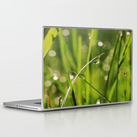 grass Laptop & iPad Skins featuring Grass by Angela King-Jones