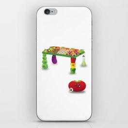 Veggie-Table iPhone Skin