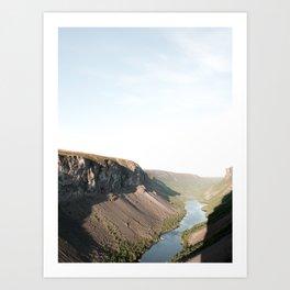 Alta Canyon Art Print