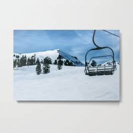 The Slopes Metal Print