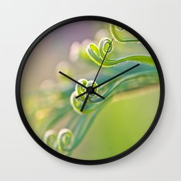 Unspoiled Wall Clock