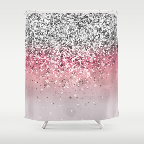Spark Variations VII Shower Curtain