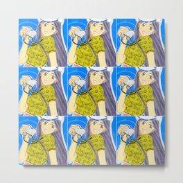 Emiko Sailing... Somewhere! Metal Print
