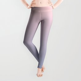 Ombre | Rose Quartz and Serenity | Pantone Colors of the Year 2016 Leggings