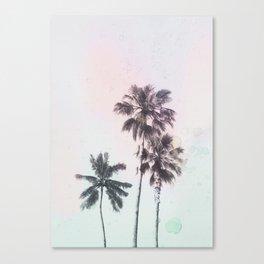Palm Daze Canvas Print