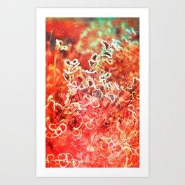 Radiant Nature Art Print