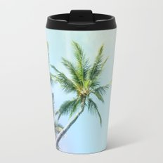 Relaxing Rainbow Color Palms Travel Mug
