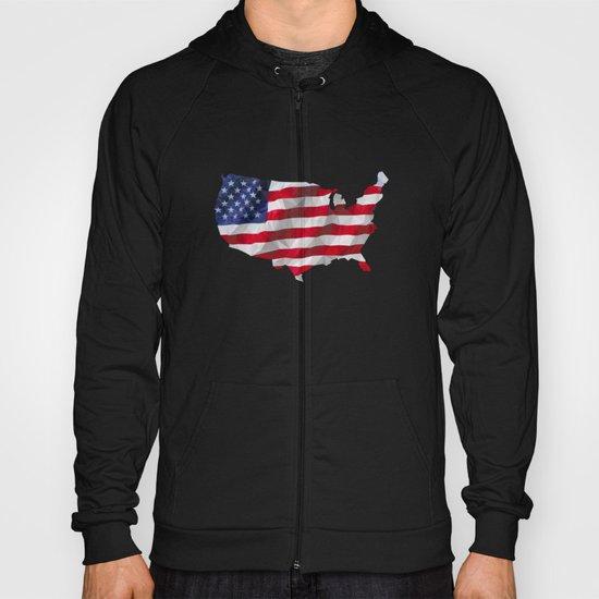 The Star-Spangled American Flag Hoody