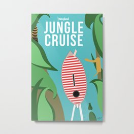 The Jungle Cruise Metal Print