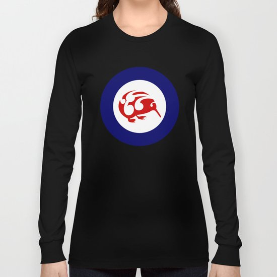 Kiwi Air Force Roundel Long Sleeve T-shirt