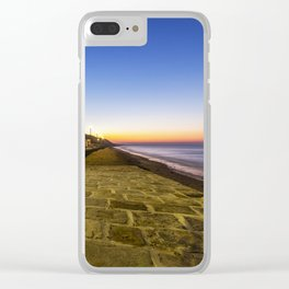Saltburn in the evening light Clear iPhone Case