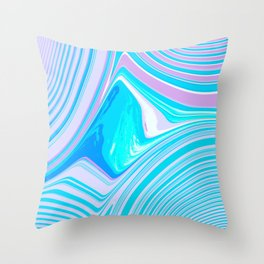 Abstract Creation by Robert S. Lee Throw Pillow