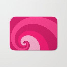 pink wave Bath Mat