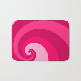 pink wave Bath Mat