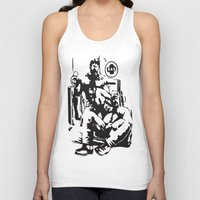 muscle Tank Tops featuring Muscle Bears by Kawtastic
