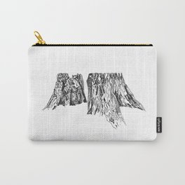 Tree Stump Mountain 3 Carry-All Pouch