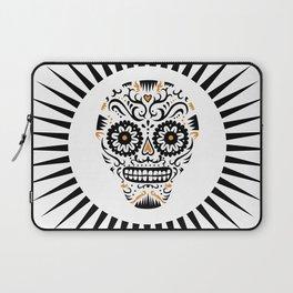 Sugar Skull SF - white Laptop Sleeve