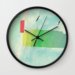Varicose Chloroplast Wall Clock