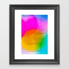 Bubble bubble Framed Art Print