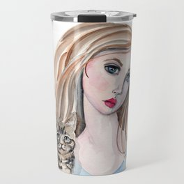 Girl and Friends Travel Mug