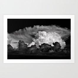 storm clouds ! Art Print