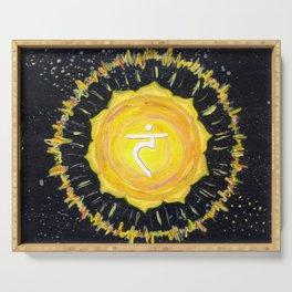 Solar Plexus Chakra Serving Tray