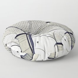 arches Floor Pillow