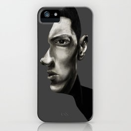 The Marshall Mathers Portrait iPhone Case