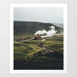 Geothermal Energy Art Print